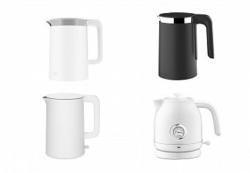 Выбираем электрический чайник от Xiaomi: Xiaomi Viomi Smart Kettle Bluetooth, умный чайник Xiaomi Smart Kettle Bluetooth Mijia, Xiaomi Mi Kettle, Xiaomi Qcooker Electric Kettle